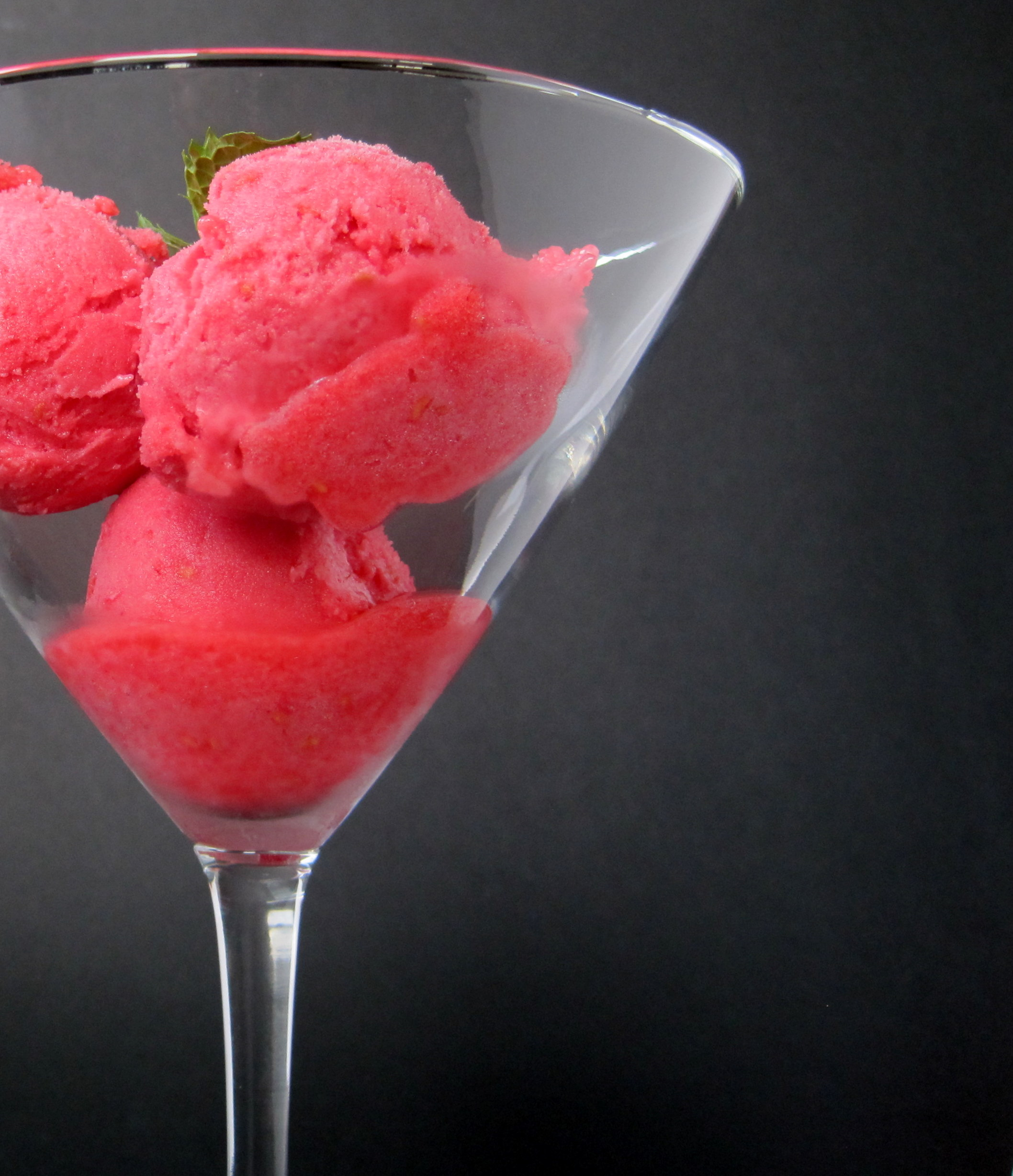 Raspberry Sorbet Recipe — Dishmaps