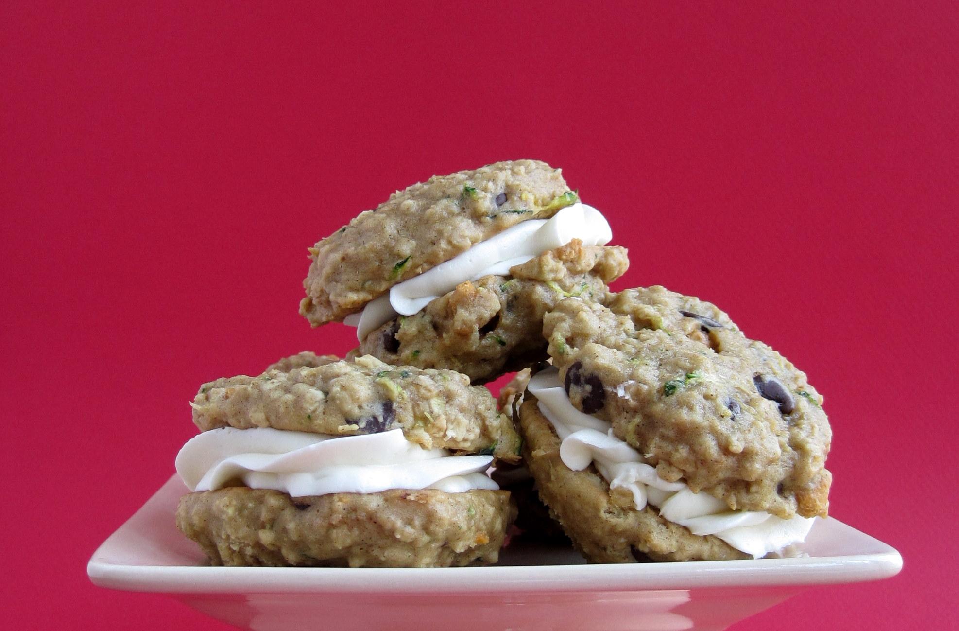 Oatmeal Zucchini Cookies | Baking with Basil