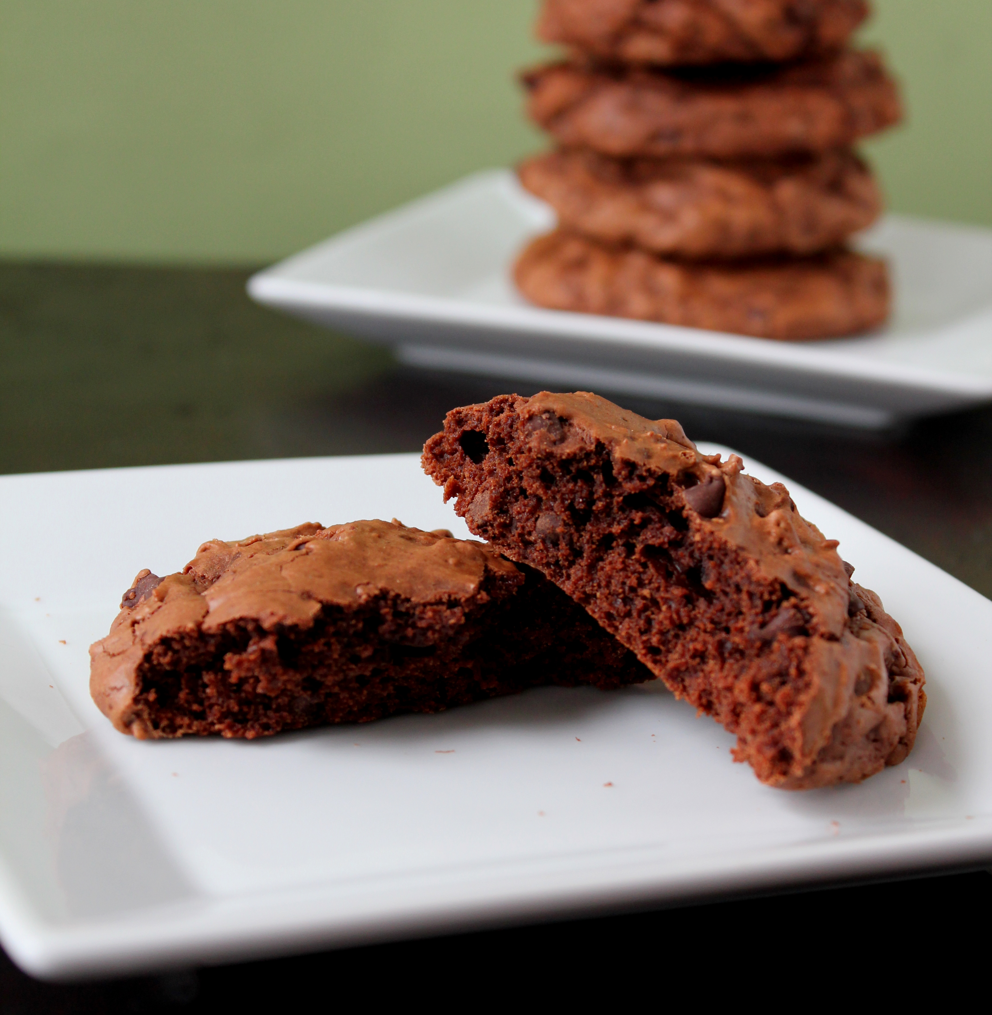 Double Chocolate and Espresso Cookies | Baking with Basil