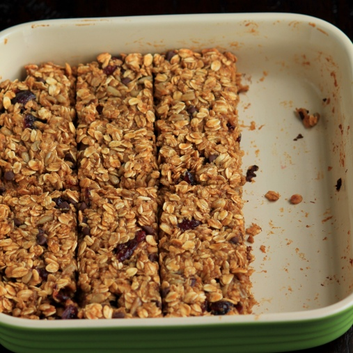 Pumpkin Granola Bars | Baking with Basil